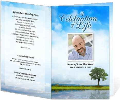memorial bulletin template 218 best images about creative memorials with funeral