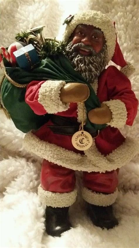 clothtique  dreams traditional afro american santa  african american