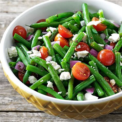salad recipe balsamic green bean salad recipe taste of home