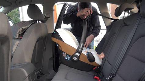 Babyschale Im Auto Befestigen by Kindersicherheit Im Auto Teil 3