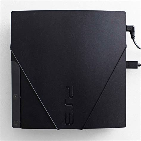 Playstation 3 Slim Black playstation 3 slim ps3 slim wall mount by floating grip 174