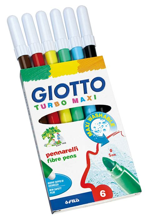 Maxi Set Drawing Giotto Be Be by Giotto Turbo Maxi Marker Drawing Markers Boxes And