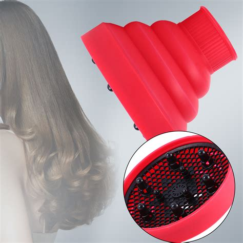 Diffuser Hair Dryer For Curly Hair Uk hairdressing silicone curly hair styling dryer
