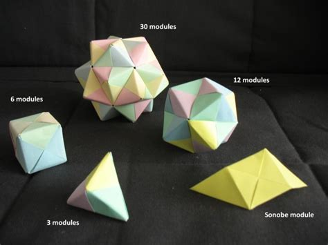 origami units math monday introducing the sonobe unit national