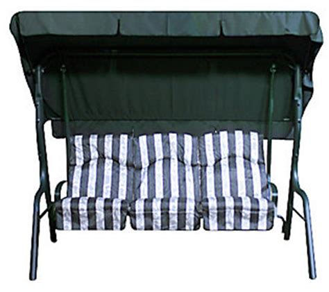 3 person swing replacement cushions deluxe 3 person swing with cushions overhead canopy