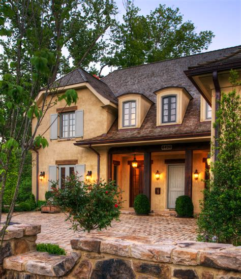 a new house inspired by old french country cottages new country french cottage mediterranean exterior dc