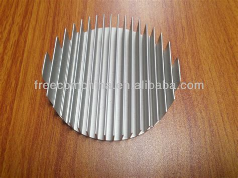 round heat sink extrusion sale efficiency round aluminum extruded led heat sink