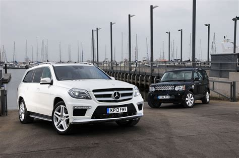 mercedes land rover white land rover discovery 4 vs mercedes gl350 auto express