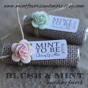 Wedding Favors Mints Uk by Mint Wedding Favors Set Of 50 Mint Rolls By