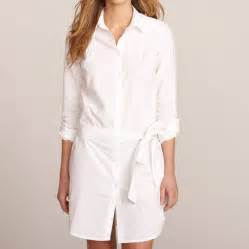 women s cotton shirt dress by kemp amp co