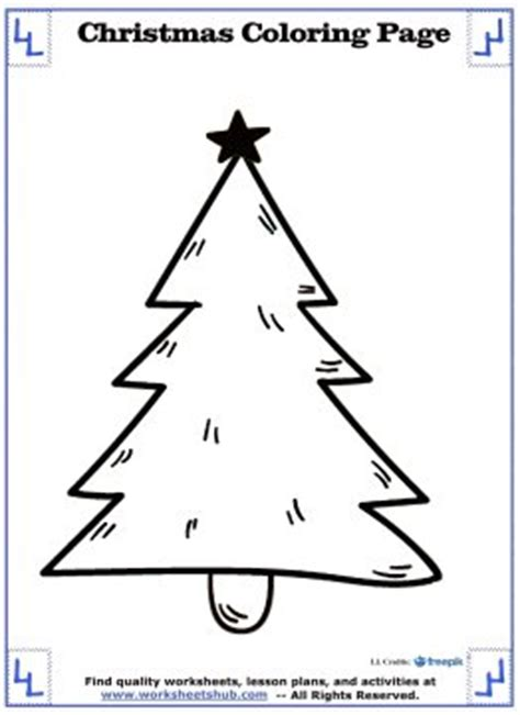 Free Worksheets 187 Christmas Tree Worksheets Free Math Tree Math Coloring Page