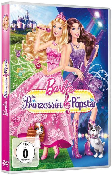 film barbie und der popstar barbie die prinzessin und der popstar dvd kaufen