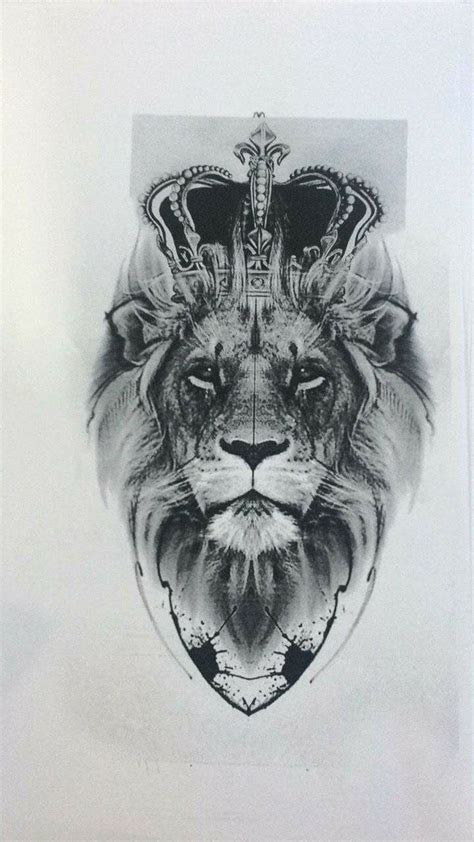 lion with crown tattoo design best 25 sleeves ideas on