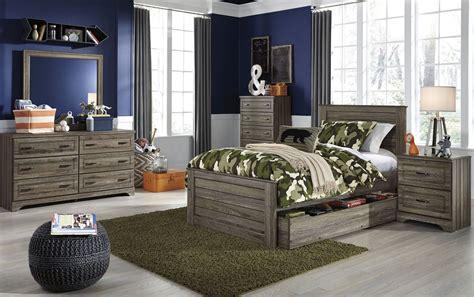 trundle bedroom sets javarin grayish brown youth trundle panel bedroom set