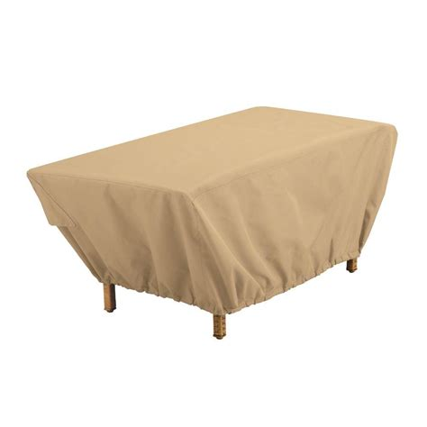 patio coffee table cover classic accessories terrazzo patio coffee table cover