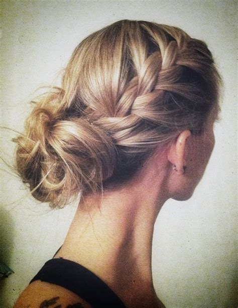 hair style interlok bun 1000 images about bridesmaids hair styles on pinterest