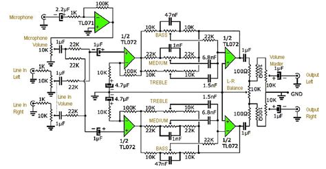 pcb layout jobs scotland audio tone control circuit diagram image collections