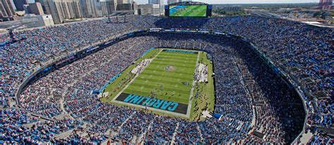 parking at bank of america stadium nc carolina panthers football sportservice delaware