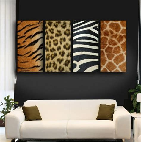 safari wall decor for living room 25 ideas to use animal prints in home d 233 cor digsdigs