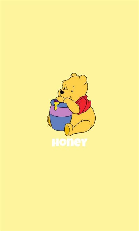winnie the pooh yellow honey wallpaper new decorating ideas