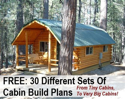 cabin plans free 30 free diy cabin blueprints crafts diy i