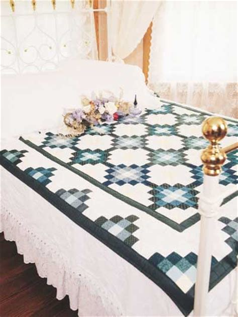 Bed Quilt Patterns by Quilting Bed Quilts Mosaic Scrap Quilt Pattern