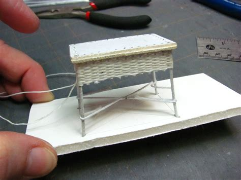 Put The Table Back by Dollhouse Miniature Furniture Tutorials 1 Inch Minis
