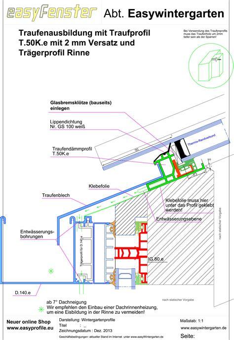 wintergarten detail thermo auflageprofile f 252 r glas details