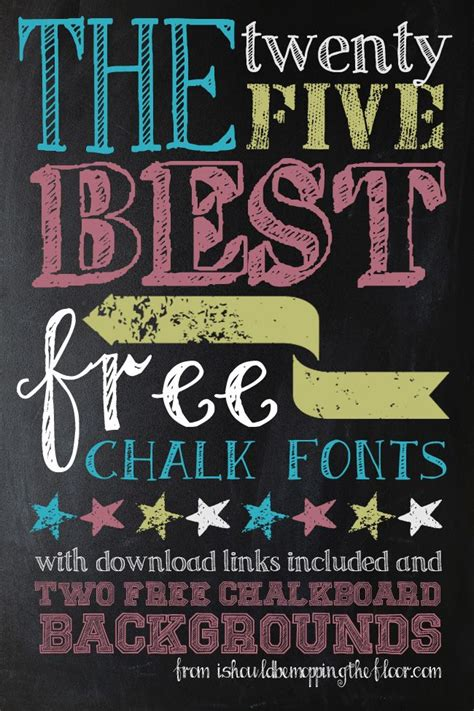 17 best images about font on pinterest chalk fonts