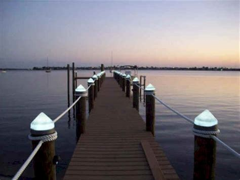 piling mounted dock lights lights for docks localbrush info