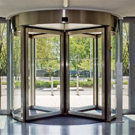 Revolving Glass Door Dorma Ktv Secure Revolving Doors
