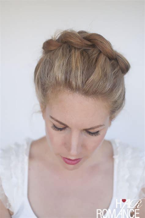 twisted crown braid tutorial twist me pretty side crown