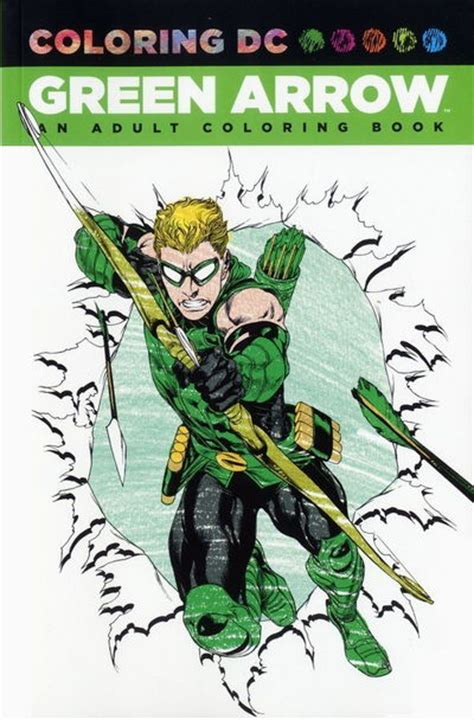 coloring book tpb green arrow an coloring book tpb at tfaw
