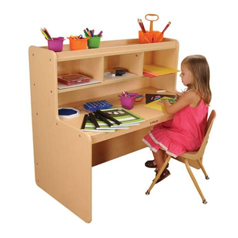 Tikes Writing Desk by Classic Maple Laminate Writing Desk By Kaplan Early