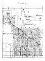 ward county map ward county 1950 dakota historical atlas