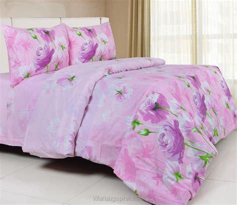 Sprei Katun 100x200 Tinggi 30cm Jaxine Motif Pink sprei panca rageta pink warungsprei