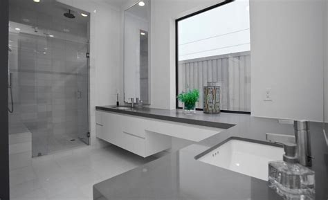 Modern Gray Bathrooms by Cool And Sophisticated Designs For Gray Bathrooms