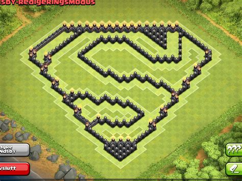 coc layout superman epic town hall th9 farming base superman design 4th mortar