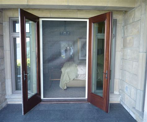 outswing patio doors with retractable screens patio door retractable screen door screen