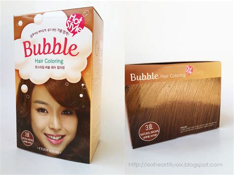 New Etude House Style Hair Coloring lucid doll coloring my hair with etude house hair dye of 29 new brown hair color
