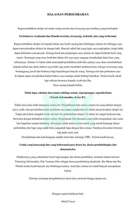 halaman karya ilmiah dee