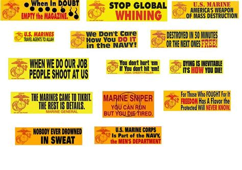 Usmc Bumper Stickers