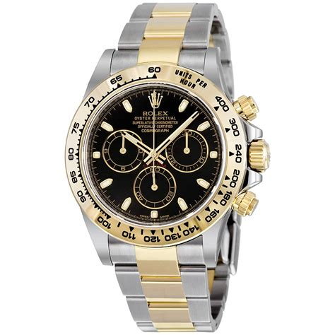 Rolex Daytona Deal Blue Otometic 1 rolex cosmograph daytona steel and 18k yellow gold oyster