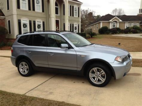 2006 bmw x3 3 0 i buy used 2006 bmw x3 3 0i sport utility 4 door 3 0l in