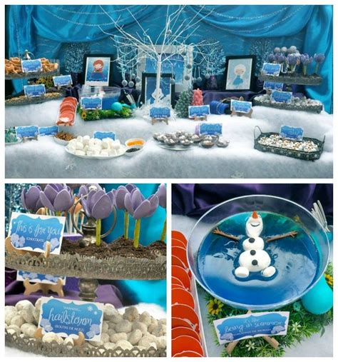 frozen themed party kelso 29 best images about disney frozen olaf summer party on