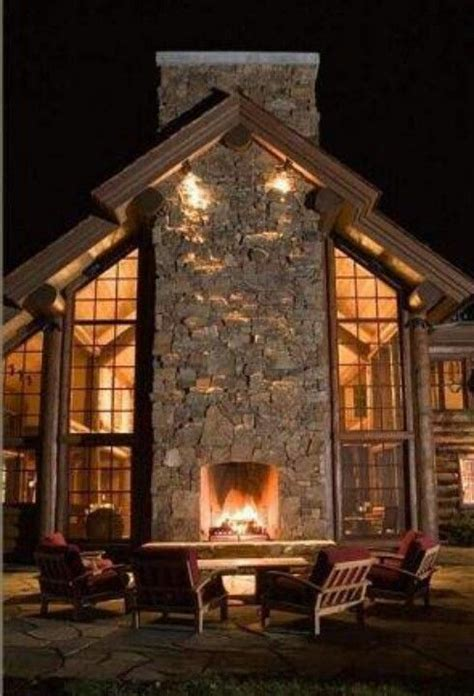 houses with fireplaces fireplace with windows home one day