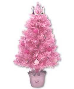 barbie 32in fibre optic christmas tree review compare
