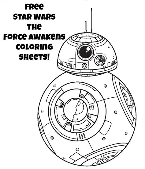 printable coloring pages star wars star wars coloring pages the force awakens coloring pages