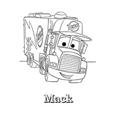 Skidder Disney Characters top 25 free printable truck coloring pages