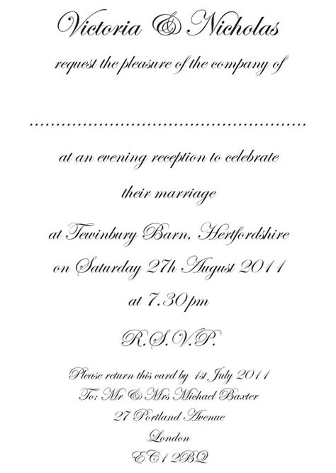 formal wedding invitations wordings formal wedding invitation wording fotolip rich image and wallpaper